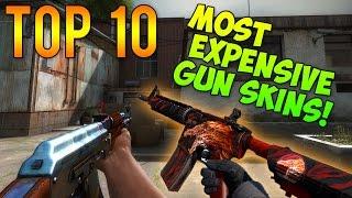 CS GO - Top 10 Most Expensive GUN Skins!