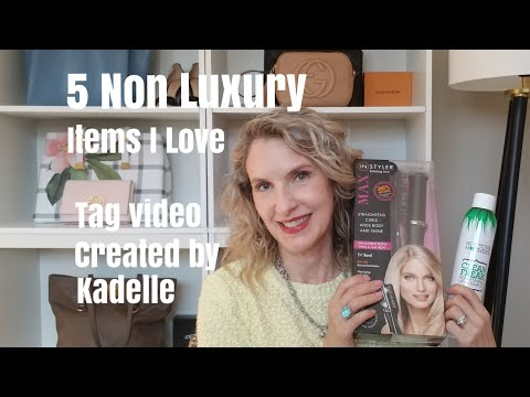 5-non-luxury-items-i-love-|-tag-video-created-by-kadelle