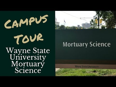 Campus Tour with Kari Northey: Wayne State University Mortuary Science
