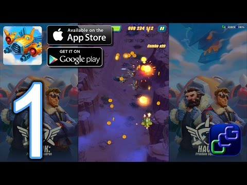 HAWK: Freedom Squadron Android IOS Walkthrough - Gameplay Part 1 -