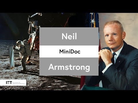 The First Man On The Moon: Neil Armstrong #Apollo50