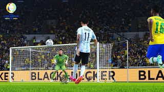 PES 2021 - Remake of Ángel Di María's Goal in Copa America 2021 Final - Brazil Vs. Argentina - PC 4K