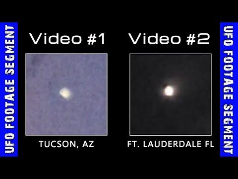 UFO SIGHTINGS • 2 Videos • Arizona • Florida