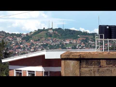 Kampala Uganda View of Makindye Kansanga and Ggaba from Muyenga Part 2