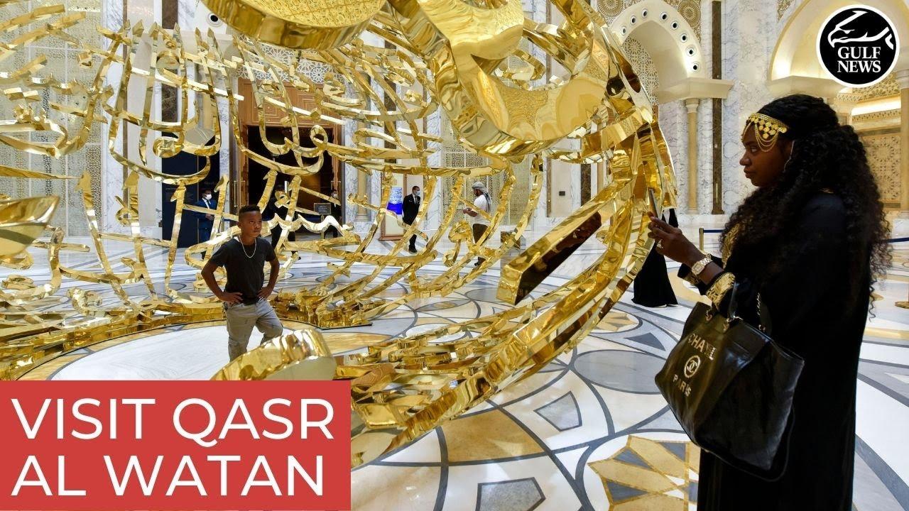 Visit Qasr Al Watan: A taste of Arabian heritage and grandeur in Abu Dhabi