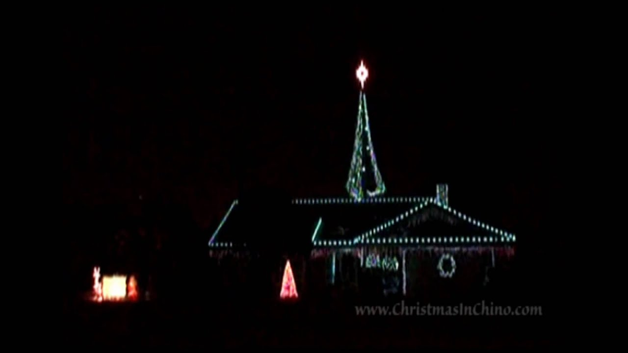 Christmas Lights In Chino California | Decoratingspecial.com