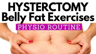 Abdominal Exercise after Hysterectomy to REDUCE BELLY FAT | PHYSIO Guided 10 MINUTE Home Routine screenshot 5