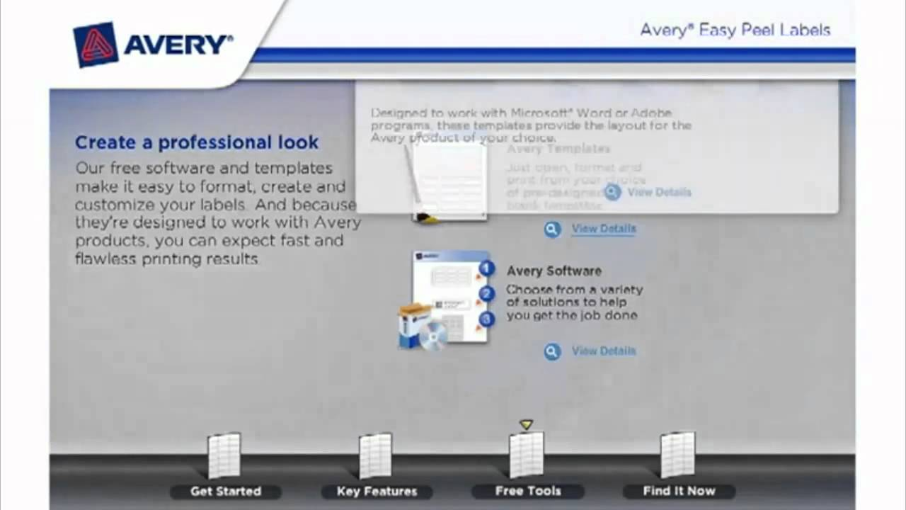 Avery Easy Peel Address Labels Demo Video Youtube
