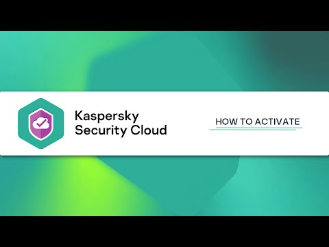 How to activate Kaspersky Security Cloud 20