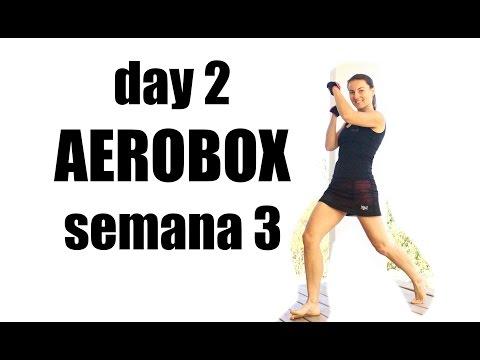 aerobox sirve para bajar de peso