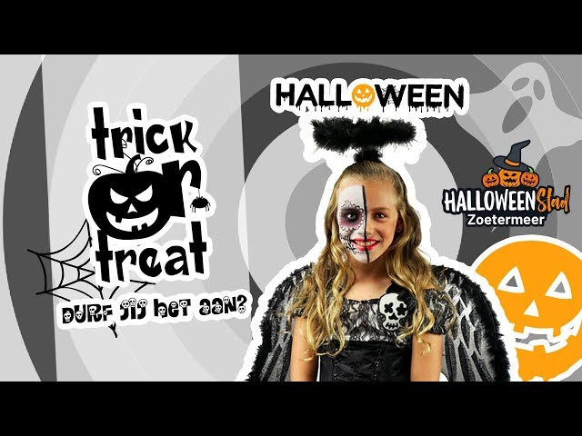 Halloween Stadshart Zoetermeer | Djenna's vlog #72