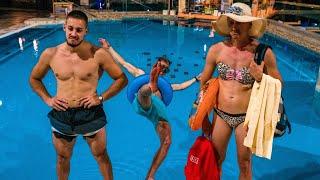 Typy ľudí v aquaparku