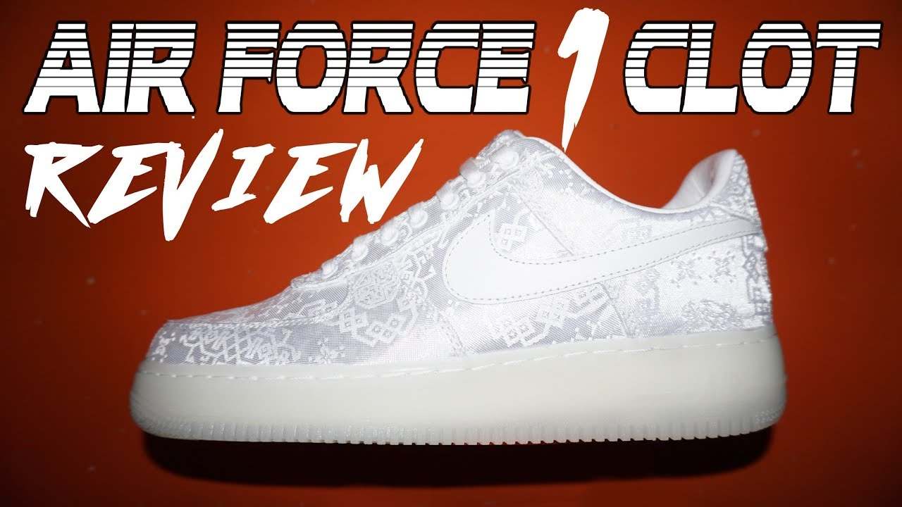 nike air force 1 coagulo revisione su youtube