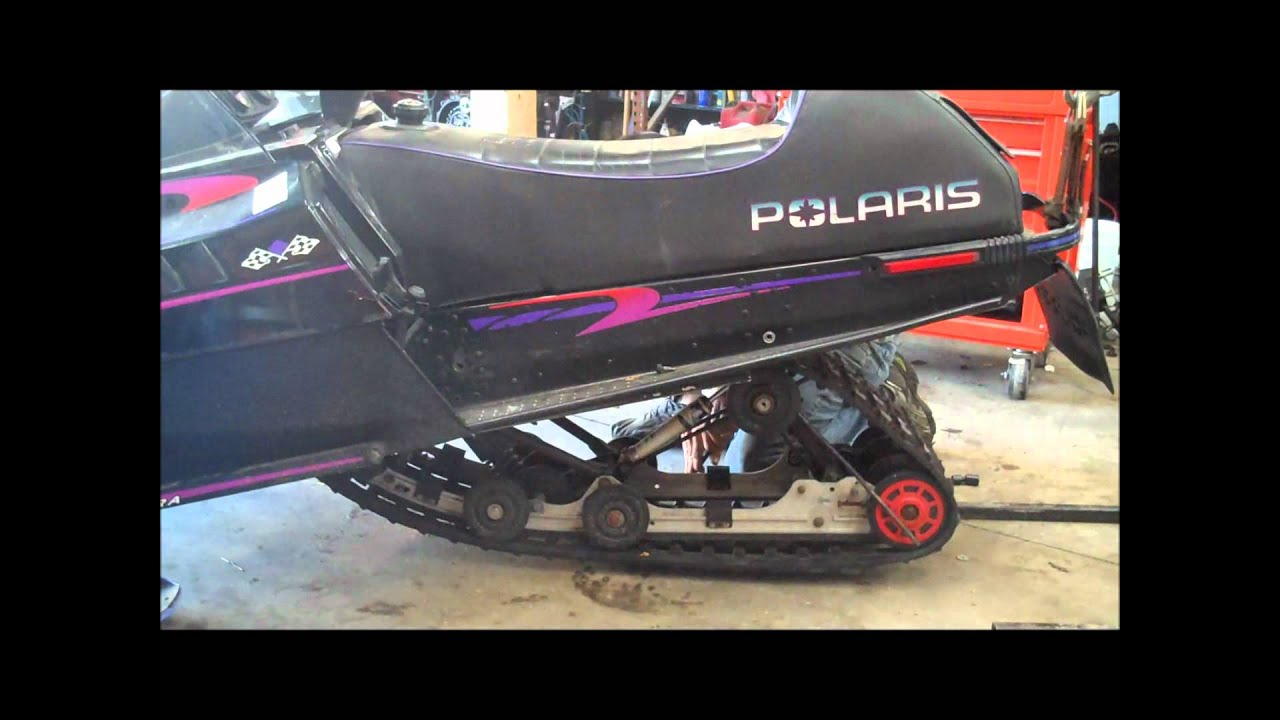 How To Rear Suspension Removal Snowmobile Youtube 2001 Yamaha Phazer 500 Wiring Diagram