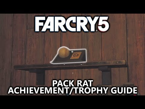 Far Cry 5 - Pack Rat Achievement/Trophy - How Collectibles Work and All 6 Types of Collectibles