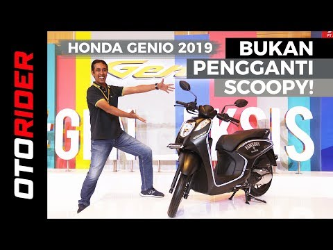 Honda Genio 2019 First Ride Review - Indonesia | OtoRider