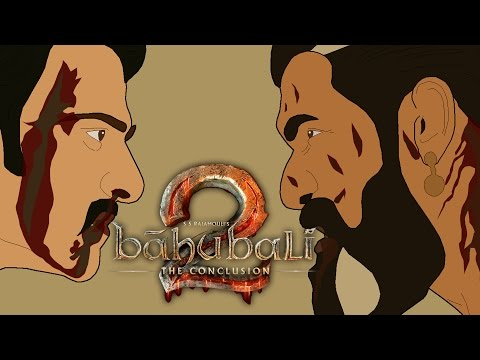 Baahubali 2: The Conclusion ( బాహుబలి 2 ) Trailer in Animation