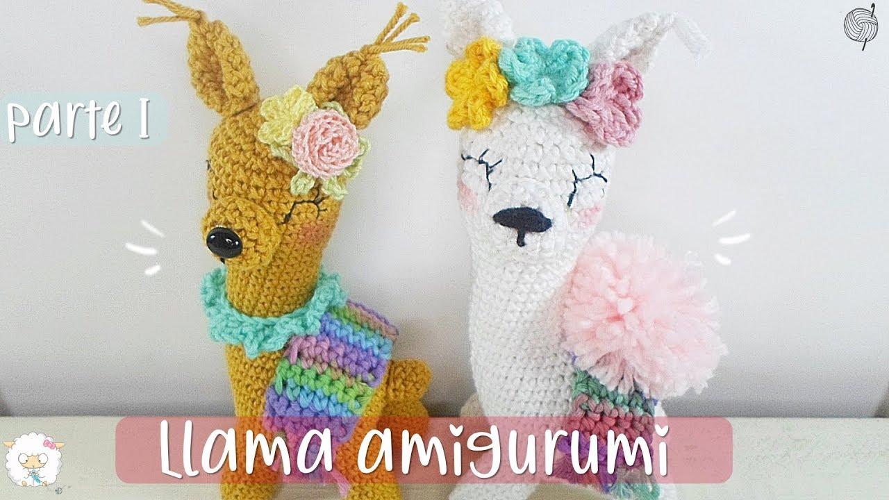 Crochet Llama Tutorial part 1 - YouTube | 720x1280