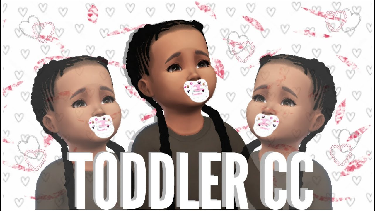Sims 4 : First Toddler CC Finds | Girls - YouTube