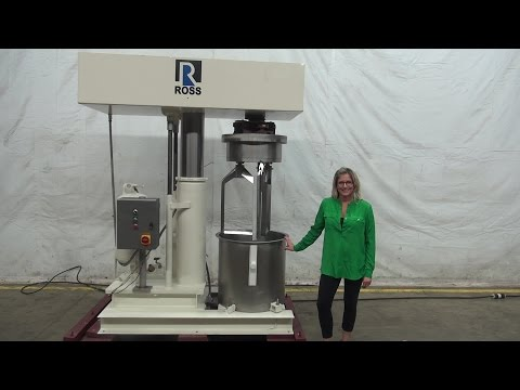 Ross Model HDM40 40 GAL Double Planetary Mixer Demonstration