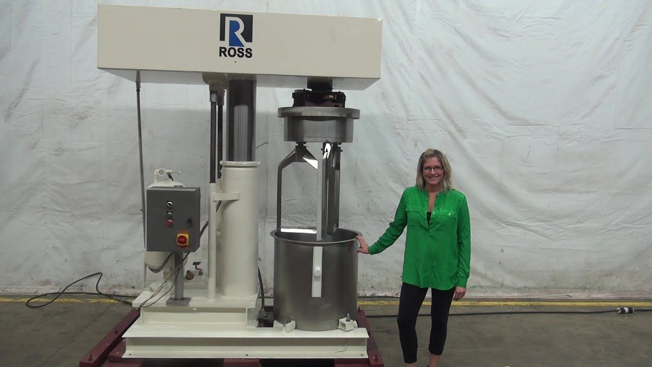 Ross Model Hdm40 40 Gal Double Planetary Mixer