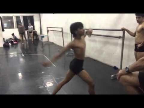 Amir Shah Ballet Class