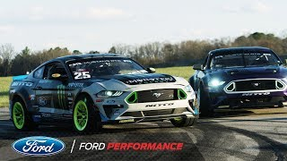 The 2018 Ford Mustang RTR team: Formula Drift Reveal | Ford Performance