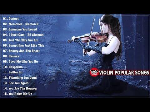 Violin Pop 2020😍 Las Mejores Canciones De Violín Para Cubrir Las Canciones Pop Inglesas de 2020
