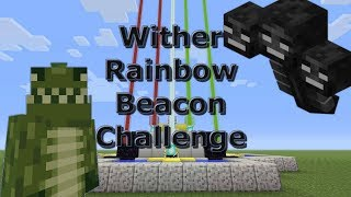 Minecraft: (PS4) - Power Up - Wither Rainbow Beacon Challenge - (22)