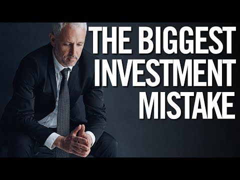 THE #1 MISTAKE BEGINNER STOCK MARKET INVESTORS MAKE!