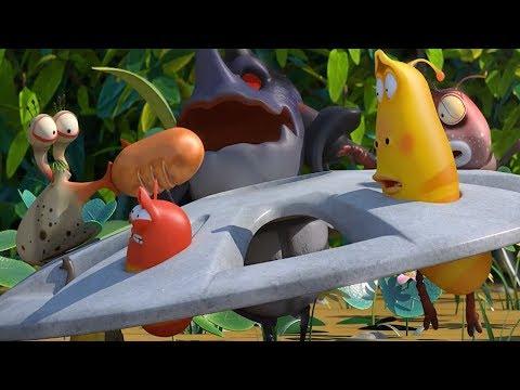 LARVA - STUCK IN THE WHEEL | Cartoon Movie | Cartoons For Children | Larva Cartoon | LARVA Official
