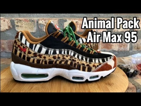 "Air Max 95 x atmos ""Animal Pack 2.0"" review"