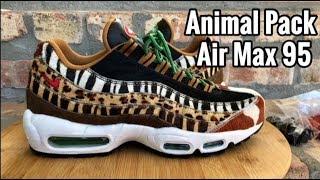 "Air Max 95 x atmos ""Animal Pack 2.0"" review"