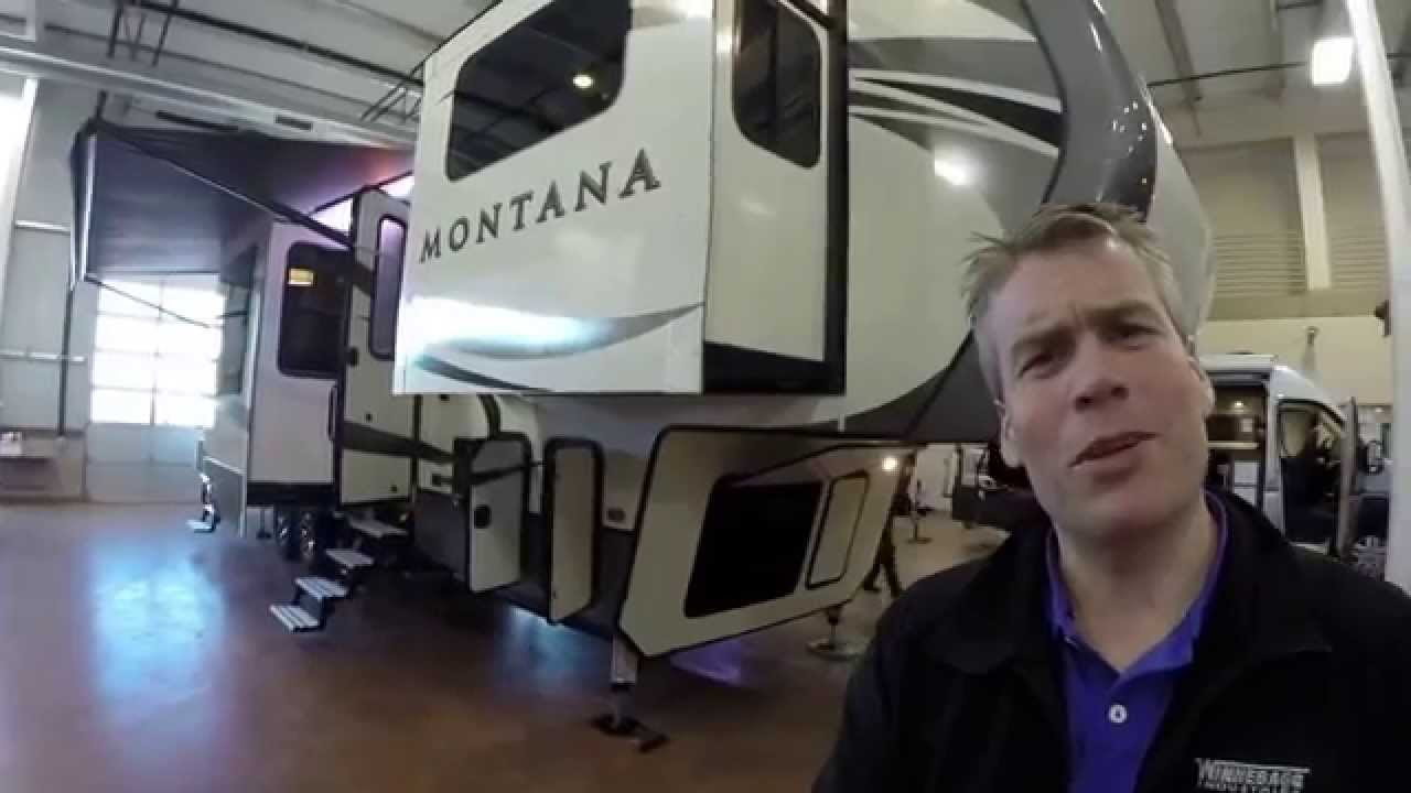 2016 keystone montana 3710fl six slide front living room - 2016 luxury front living room 5th wheel ...