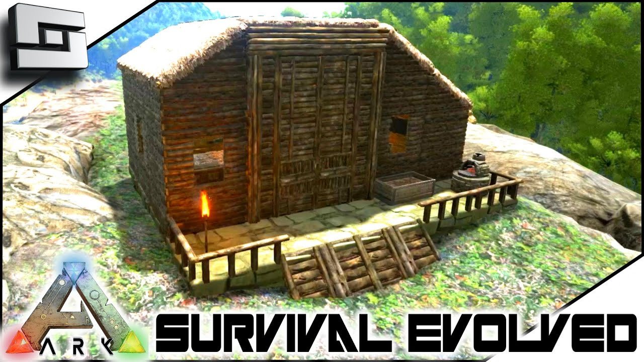 Ark survival evolved building a house for brian s2e53 for Things to include when building a house