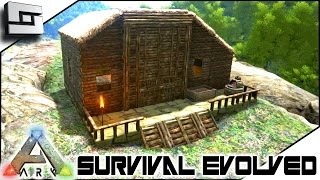 ARK: Survival Evolved - BUILDING A HOUSE FOR BRIAN! S2E53 ( Gameplay )