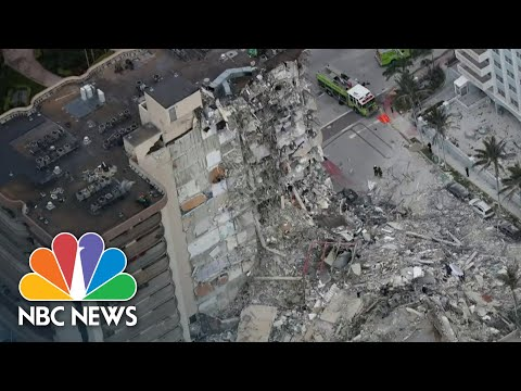 Building Collapse Survivors Hospitalized With Search For Missing Ongoing