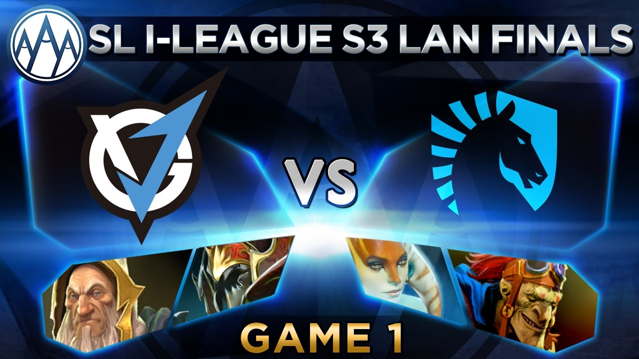 Liquid vs VG.J Game 1 - SL i-League StarSeries S3 LAN Finals - @LyricalDota @Merlini