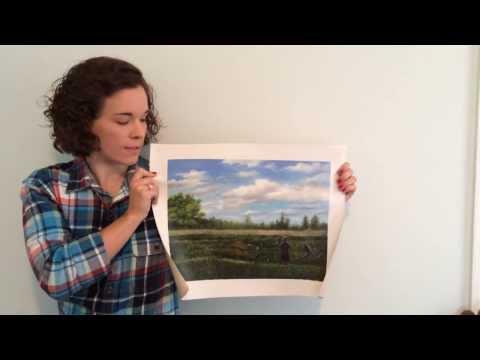 Love Custom Art - Customer testimonial on hand painted Landscape painting
