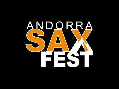 ANDORRA SAXFEST 2016 - 1a FASE CONCURSO SOLO SAXOPHONE