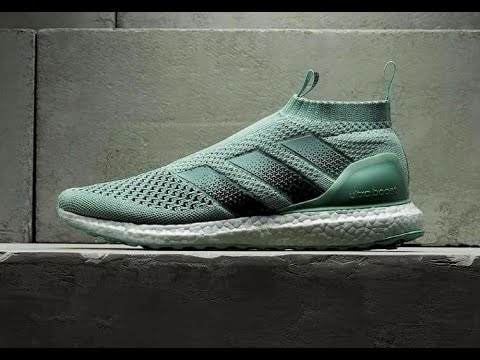low priced 69314 30963 Unboxing Adidas Ace 16 + Pure Control Ultra Boost Europe Exclusive Limited  Edition Vapour Green - YouTube