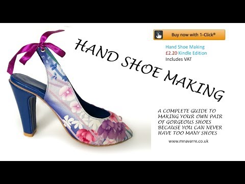 👠FLAT SHOE TUTORIAL  mnavarre.co.uk