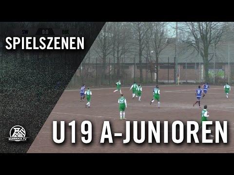SW Wattenscheid - DJK Wattenscheid (U19 A-Junioren, Kreisliga B, Kreis Bochum) - Spielszenen