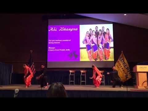 Best Bhangra Performance Adelphi University New York USA