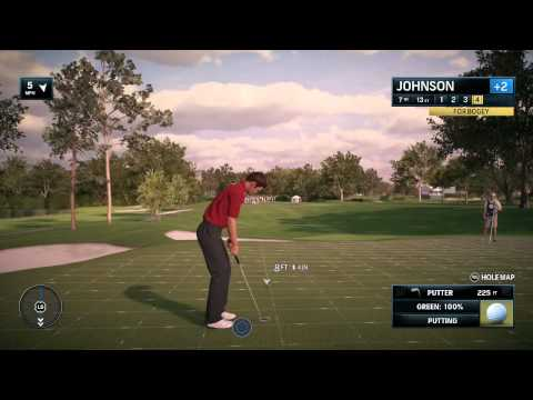 Rory McIlroy Ea Sports PGA Tour Golf 2015 Online Tour Tournament Gameplay and Commentary