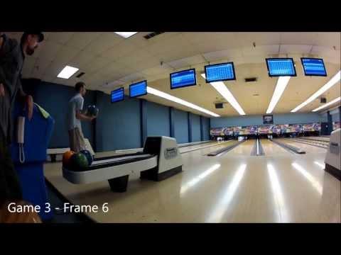 Bowling practice (Bonwood Lanes, Utah)