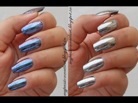 DIY Metallic Nails: Mirror pigments from Nicole Diary ...