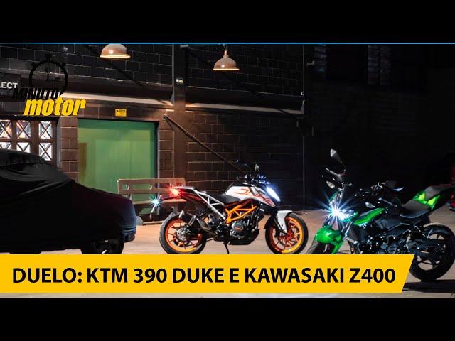 Duelo: KTM 390 Duke e Kawasaki Z400