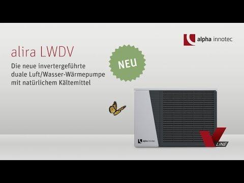 alpha innotec alira v line duale luft wasser. Black Bedroom Furniture Sets. Home Design Ideas