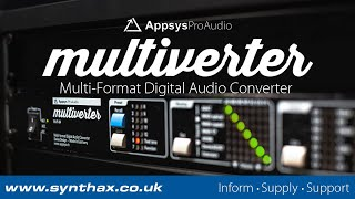 Appsys Multiverter MVR-64 - The Swiss-Army-Knife of Digital Audio Converters
